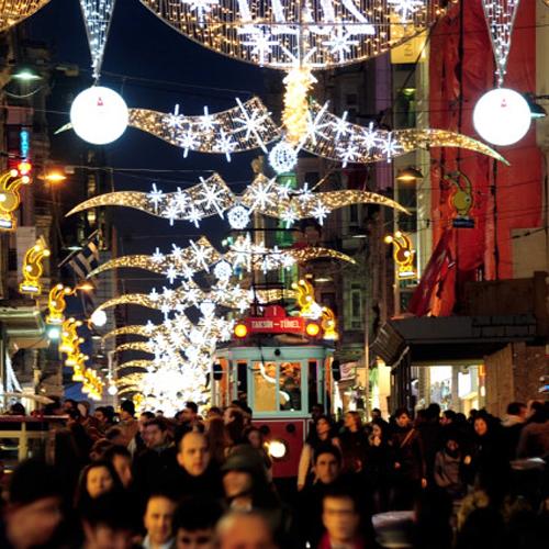 Noel Zamanlaninda Beyoğlu Turu
