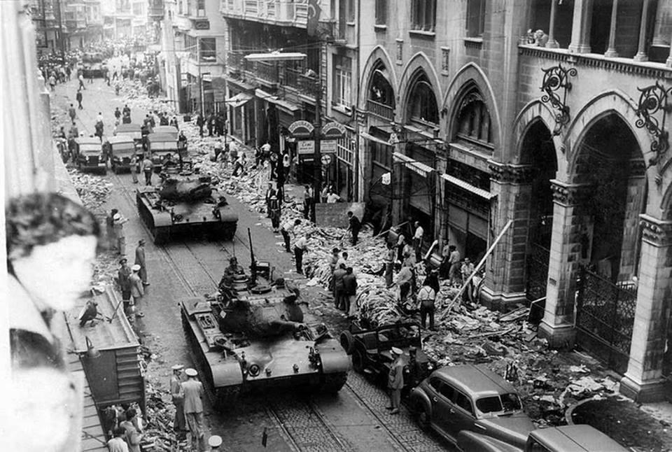 6-7 Eylül 1955 ve Beyoğlu