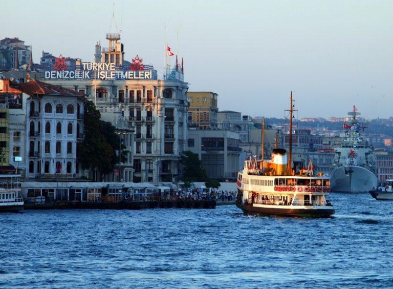 Tarihi Durakları ile Haliç'in Kuzey Kıyıları