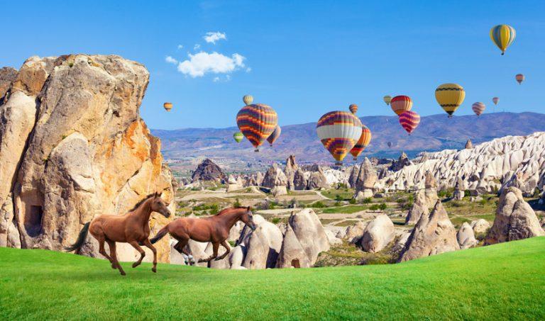 Güzel Atlar Ülkesi, Kapadokya
