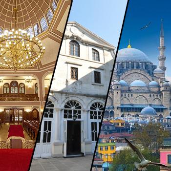 Semavi Dinlerin İzinde İstanbul